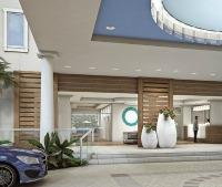 One Ocean porte cochere